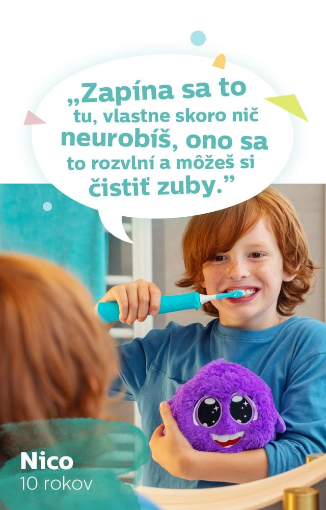 Nico - recenze sonicare for kids