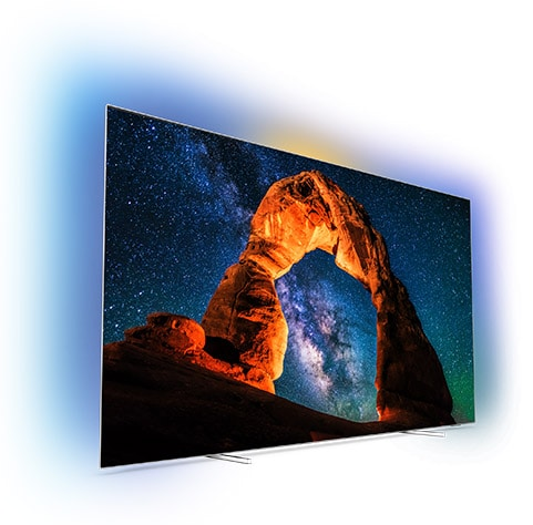 Televízor Philips 4K UHD OLED série OLED 8 s Android TV a funkciou Ambilight